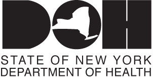 New York State Department of Health DOH logo