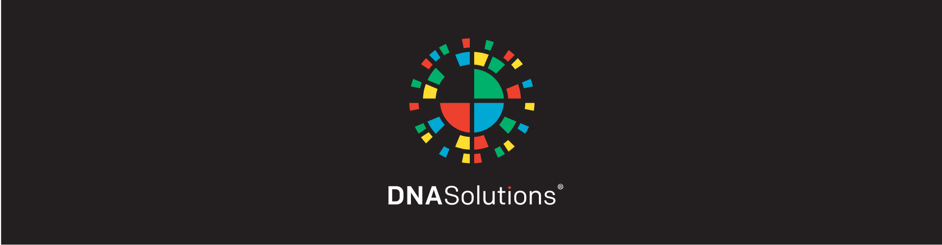 Homepage Slider DNA Solutions Logo Black Background